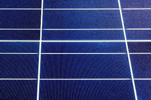 texture of a solar panel closeup