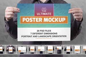 The Ultimate Poster Mockup
