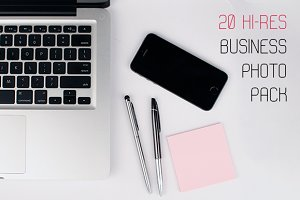 20 Business photo pack