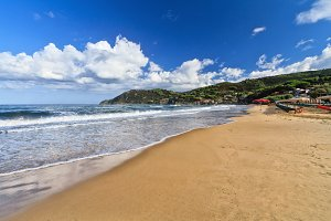 Isle of Elba - La Biodola beach