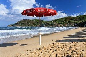 La Biodola beach