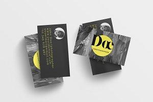 Black Premium Business Card
