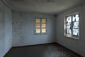 Window in abandoned house