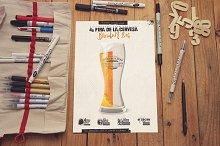 Sketch Poster Mockup 2