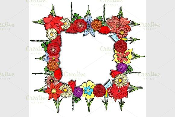 Floral background in Illustrations