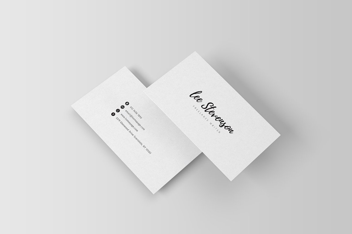 Freelancer business card iii business card templates for Freelance business cards
