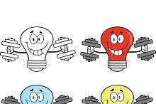 Light Bulbs Collection - 3