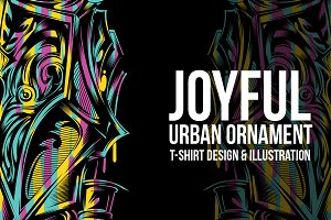 Joyfull Ornament Illustration