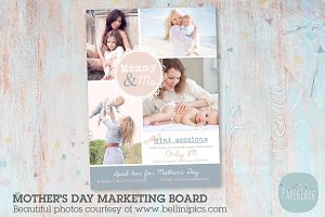 IM012 Mother's Day Marketing Board
