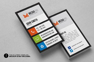 Modern Flat Business Card