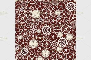 cogwheel pattern.