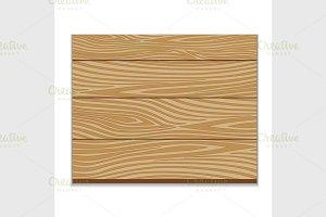 Wooden board.