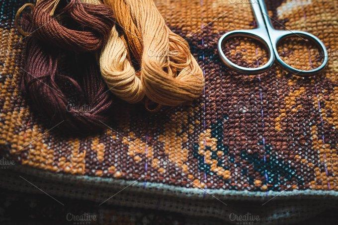 Embroidery set. Photos. - Arts & Entertainment