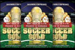 Soccer Gold France Eurocup 2016