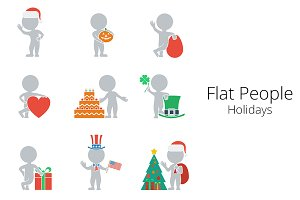 Flat People - Holidays