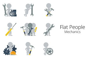 Flat People - Mechanics