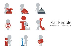 Flat People - Contacts