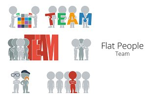 Flat People - Team