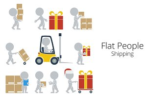 Flat People - Shipping