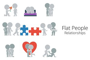 Flat People - Relationships