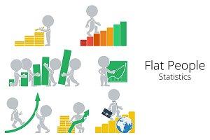 Flat People - Statistics