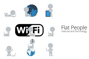 Flat People - Internet
