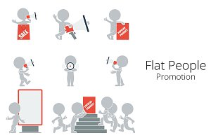 Flat People - Promotion