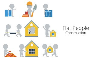 Flat People - Construction
