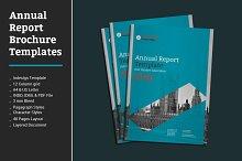 Annual Report Brochure Templates