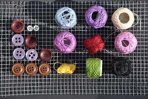thread, buttons and more