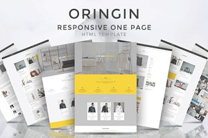 Oringin - Multipurpose HTML Template