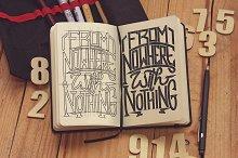 Sketch Notebook Mockup 2