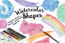 Watercolor Shapes Collection