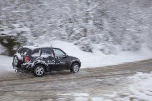 Driving at winter