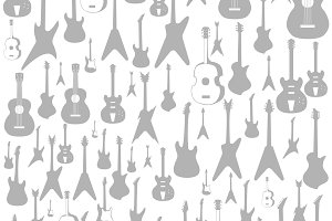 Guitar a background