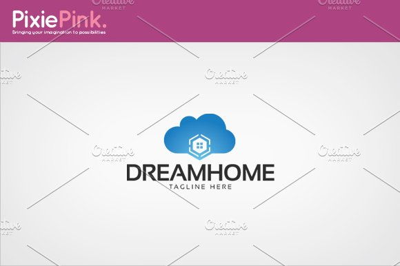 Dream Home Logo Template