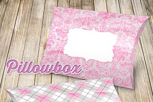 Printable Pillowbox Pink