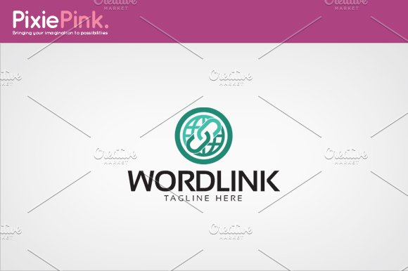 World Link Logo Template