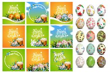 Easter greeting card templates