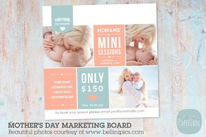 IM001 Mother's Day Marketing Board