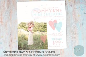 IM015 Mother's Day Marketing Board