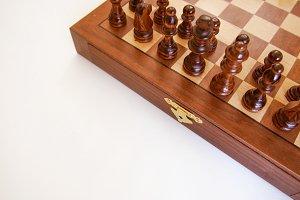 Chess on White Mockup