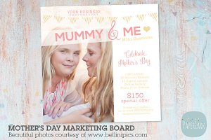 IM003  Mother's Day Marketing Board