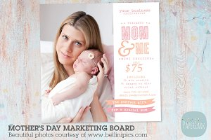 IM013 Mother's Day Marketing Board