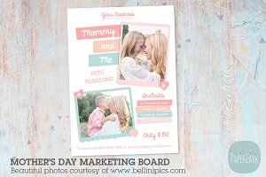 IM002 Mother's Day Marketing Board