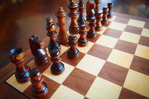 Chess - Starting field mockup
