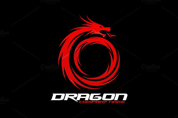 Dragon Logo in Logo Templates