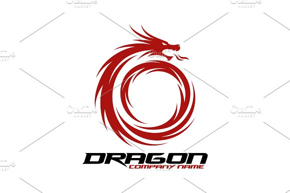 Dragon Logo in Logo Templates - product preview 1