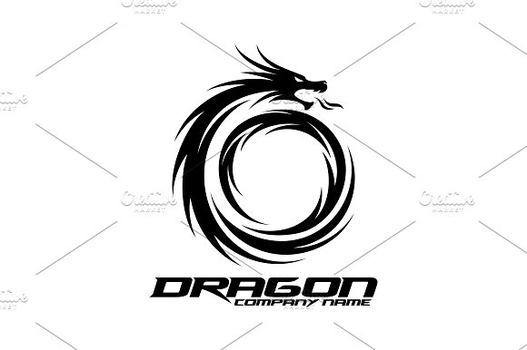 Dragon Logo in Logo Templates - product preview 2
