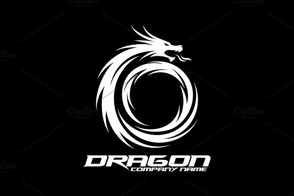 Dragon Logo in Logo Templates - product preview 3